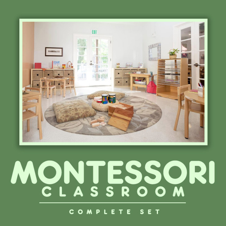 Montessori Classroom Complete Set