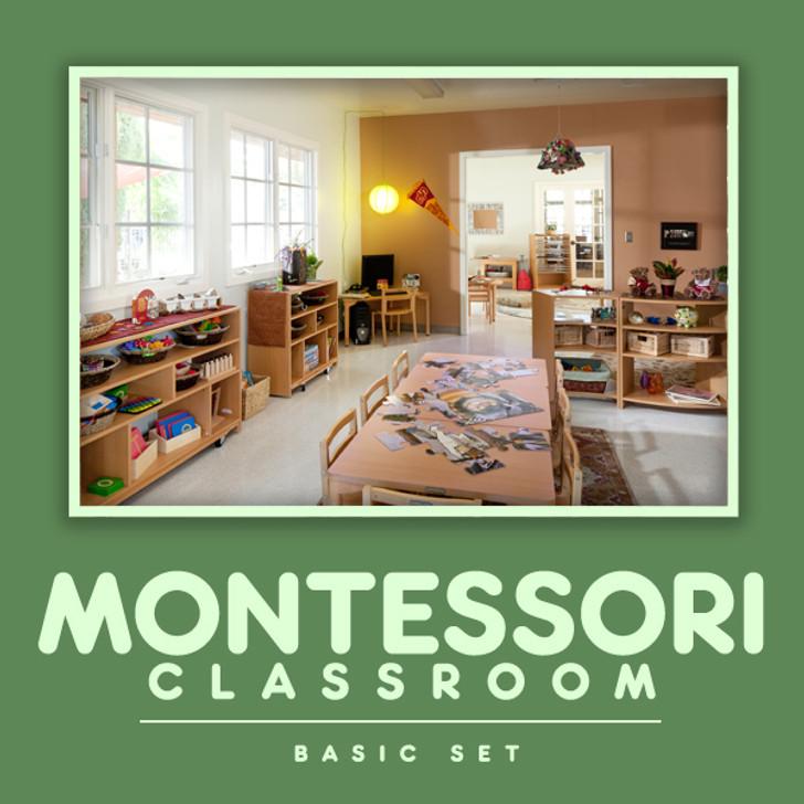 Montessori Classroom Basic Set