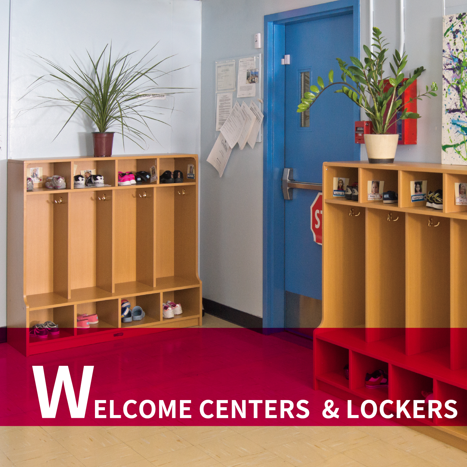 Welcome Centers & Lockers