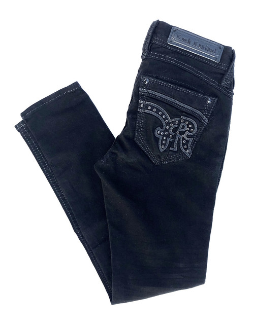 Rock Revival Beryl Black Skinny Stretch Jean