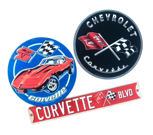 Corvette Wall signs