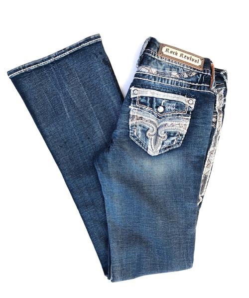 Rock Revival Levey Denim Boot Cut Jean