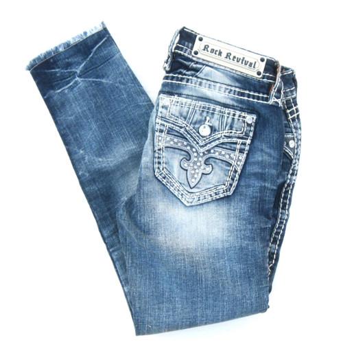 Rock Revival Aliana Ankle Skinny Jean