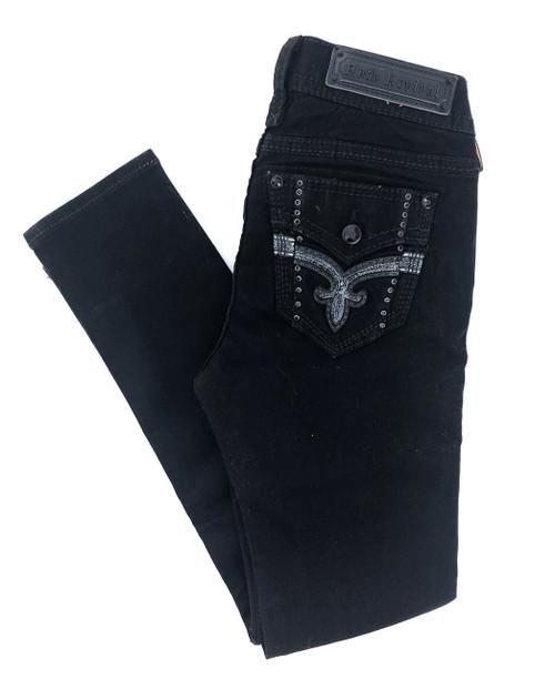 Rock Revival Silken Black Skinny Jean