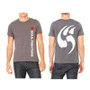 Men's Gray Logo Claw T-shirt
