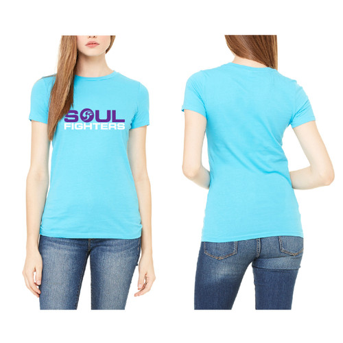 Women's Turquoise Claw T-shirt
