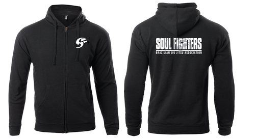 Soul Fighters Association Zip Hoodie