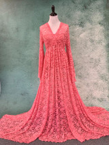 Coral Daphne Dress