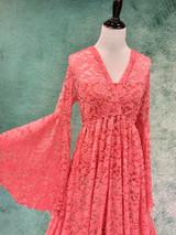 Coral Daphne Dress