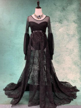 Black Evangeline Gown