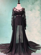 Black Lace Luna Gown