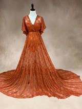 Rust Francine Dress