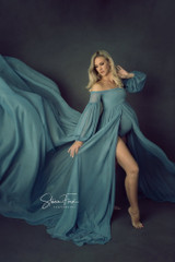 Harlow Mesh Gown