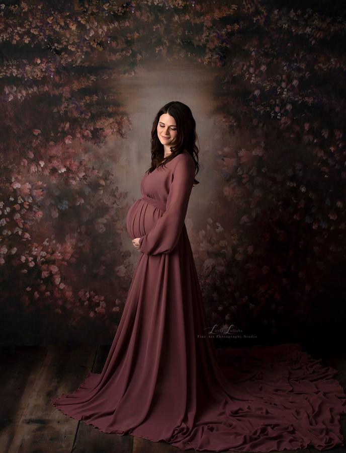 Luna Chiffon Robe/ Dress