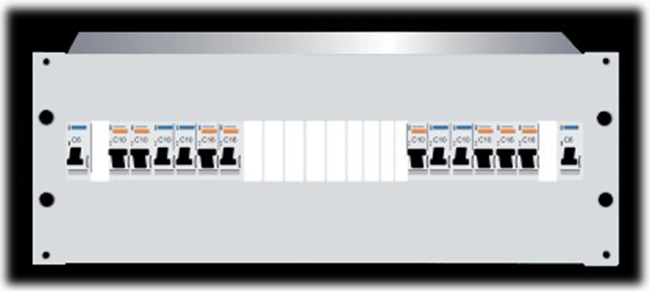 4RU Distribution Board