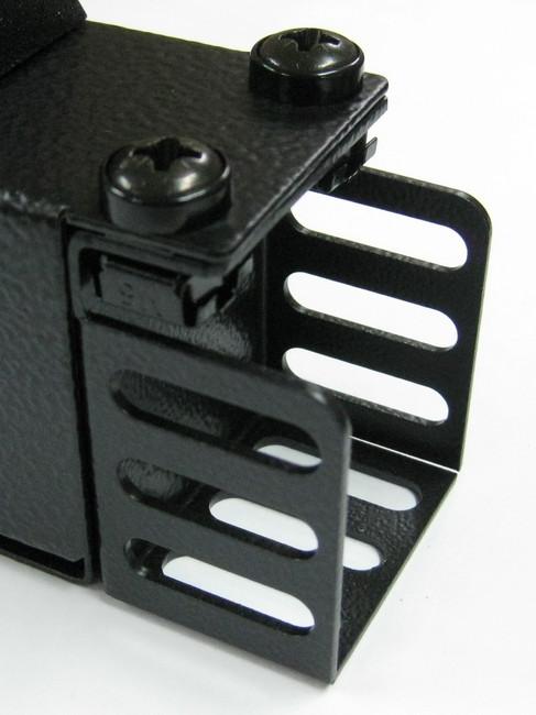 1RU > 0.5m Vertical mount bracket (set 2/pce)