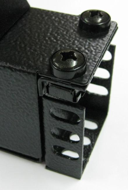 1RU > 0.5m Slim Vertical mount bracket (set 2/pce)