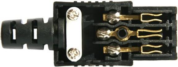 10A C13 IEC socket Black SAA approval