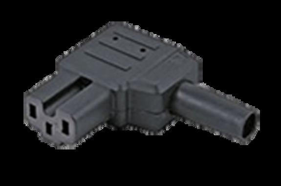10A C15A IEC Left-hand angle socket