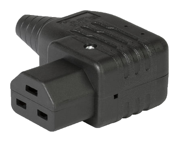 C21 (155degC) LH angle socket