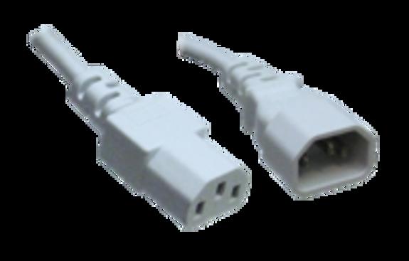 C14 to C13, White (1mm2)