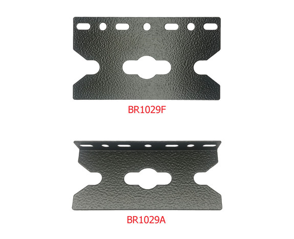 Tool-less mounting brackets