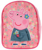 Peppa Pig Beautiful 3D Skirt Rucksack Backpack 1 Compartment Adjustable Padded Straps