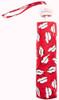 Lulu Guinness Beauty Spot Red & White Compact Handbag Size Minilite Umbrella With Cover