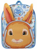 BBC Peter Rabbit Fluffy Ears Two x Zip Compartments Blue Rucksack Child Backpack