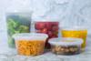 Plastic Deli Food Storage Containers - 12oz