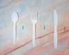 White Cutlery - 210 pcs assorted