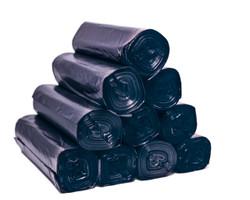 Trash Can Liner, 40-45 Gallon Capacity - Black