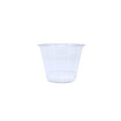 Plastic Cups - Clear - 9 oz