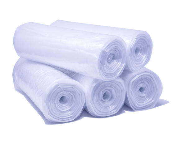 Trash Can Liner, 40-45 Gallon Capacity - Clear