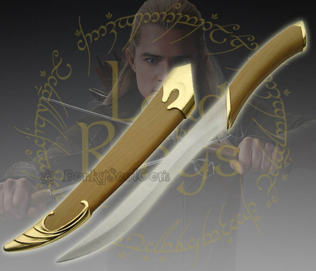 Lotr Lord Of The Rings Fighting Knife Of Legolas Elven Sword Dagger