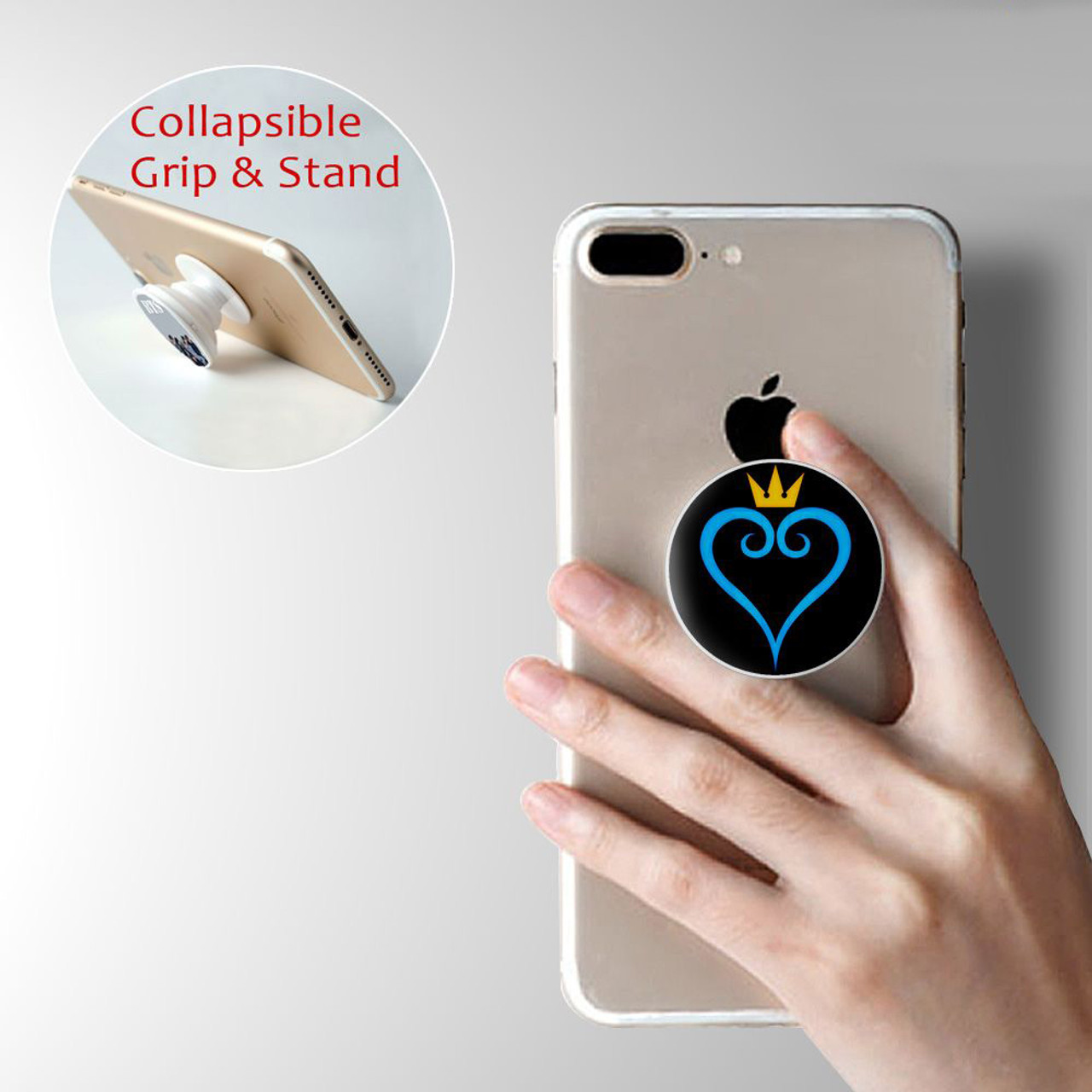 size 40 05bea 0a618 Kingdom Of Hearts PopSocket Marble Cell Phone Grip & Stand