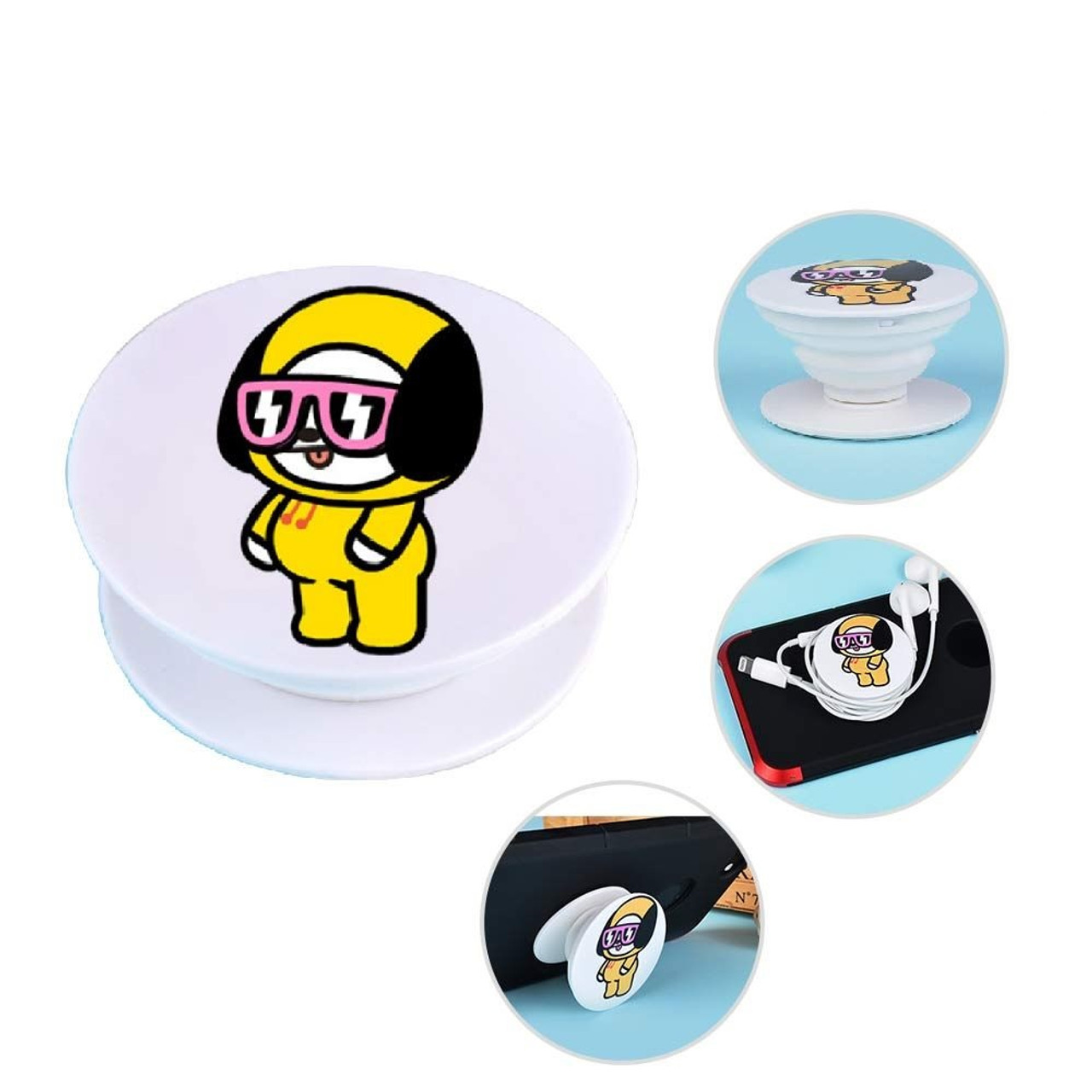 K Pop Bt21 Chimmy Popsockets Marble Cell Phone Grip Stand I have a chimmy that can only been seen by me, it disapears once an eye sets on it. bt21 chimmy popsocket