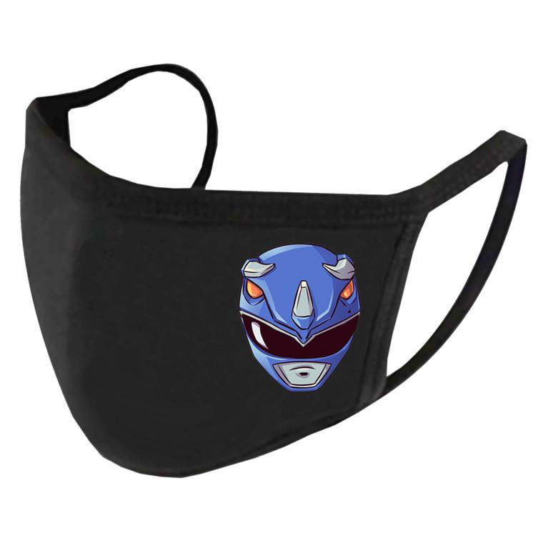 Blue Mighty Morphin Helmet Billy Cranston Power Ranger Face Mask