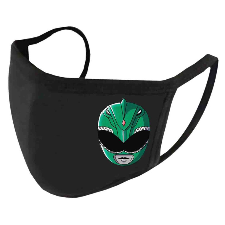 Green Mighty Morphin Helmet Tommy Oliver Power Ranger Face Mask