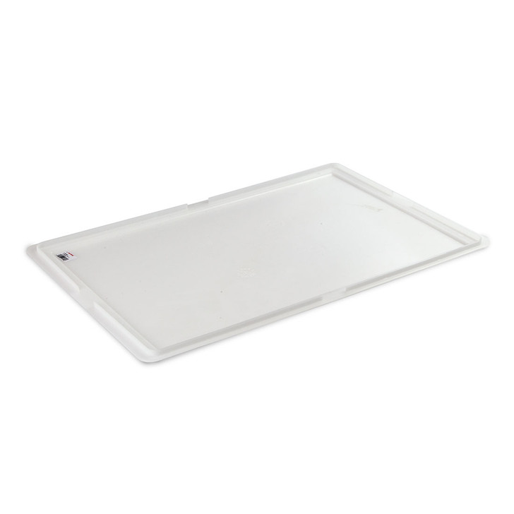 Dough tray lid for pizza dough ball storage