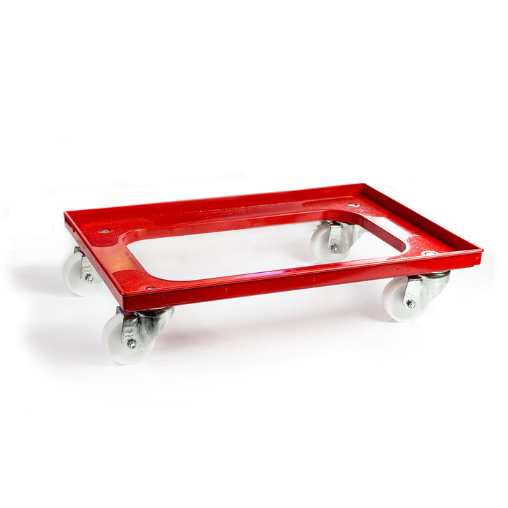 Dolly for dough ball trays