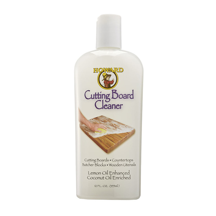 Specially formulated soap for safely cleaning any wood surface. Contains: Coconut Soap, Coconut Oil, Glycerin, Salt, Citral, Lauryl Glucoside, Lemon Terpenes, Food Grade Mineral Oil, Xanthan Gum. Safe to use on surfaces that may come into contact with food. Ideal for cleaning and preparing wood surfaces before using Cutting Board Oil.