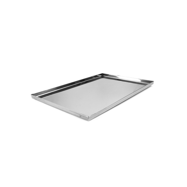 roman pizza stainless steel display pan