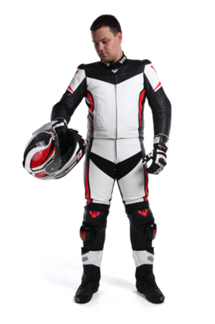 PSI Aragon Leather two piece motorcycle race suit