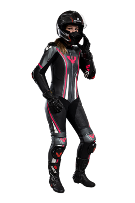 PSI RAPTOR LADY - LEATHER MOTORCYCLE RACE SUIT