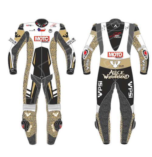 PSI CUSTOMISED ONE PIECE  MOTORCYCLE RACE SUIT - LADIES