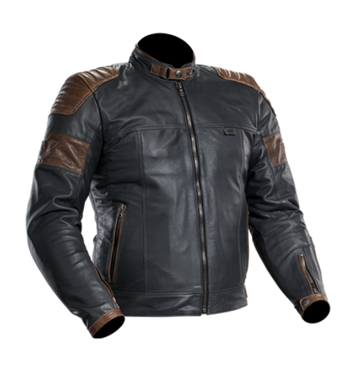 PSI LEATHER MOTORCYCLE JACKET CR7 - Mens