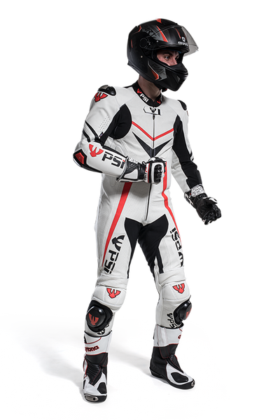 PSI MONZA LEATHER ONE PIECE MOTORCYCLE RACE SUIT