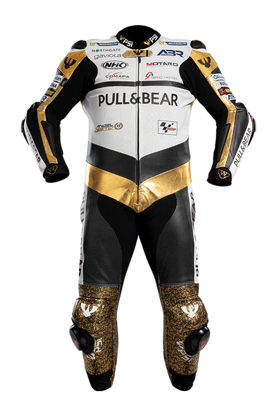 PSI KAREL ABRAHAM LEATHER ONE PIECE MOTORCYCLE RACE SUIT