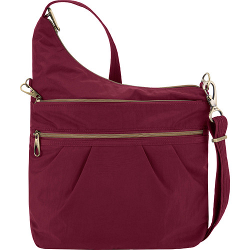 Ruby Travelon Anti-theft crossbody nylon bag at Bijou's Boutique
